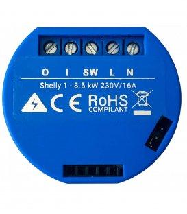 Shelly 1 - switching module 1x 16A (WiFi)