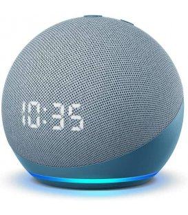 Amazon Echo Dot 4. generácie s hodinami Twilight Blue - Použité