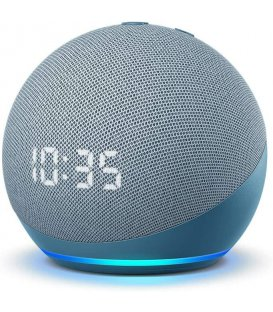 Amazon Echo Dot 4th generation with clock Twilight Blue - Used