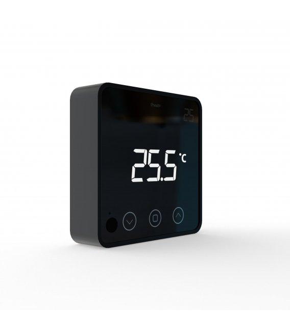 HEATIT Z-Temp2 Black, Z-Wave battery operated thermostat