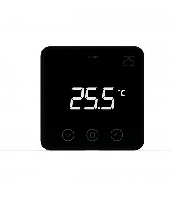 HEATIT Z-Temp2 Čierny, Z-Wave batériový termostat