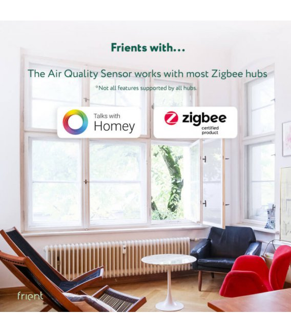 Zigbee senzor kvality vzduchu - frient Air Quality Sensor