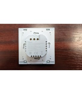 Zigbee wallswitch with double relay - AQARA Smart Wall Switch H1 EU (No Neutral, Double Rocker) (WS-EUK02)