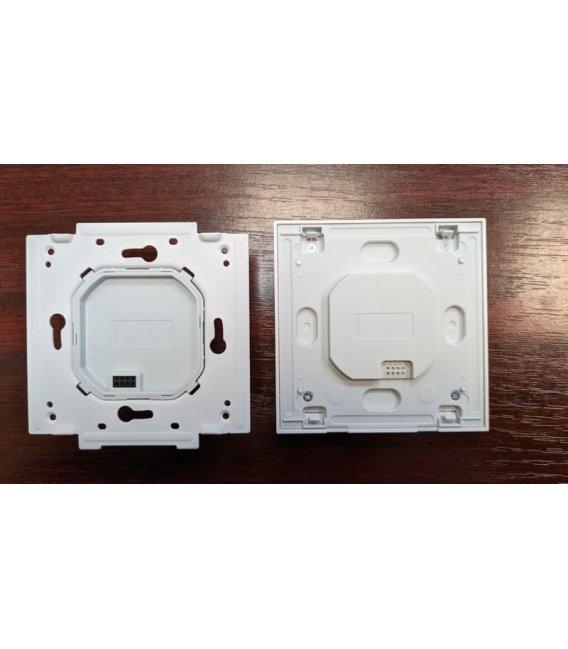 Zigbee vypínač s dvojitým relé - AQARA Smart Wall Switch H1 EU (No Neutral, Double Rocker) (WS-EUK02)
