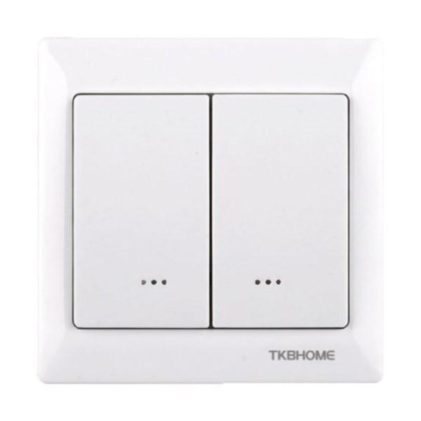 TKB Z-Wave bezdrátový vypínač - dvojpolový