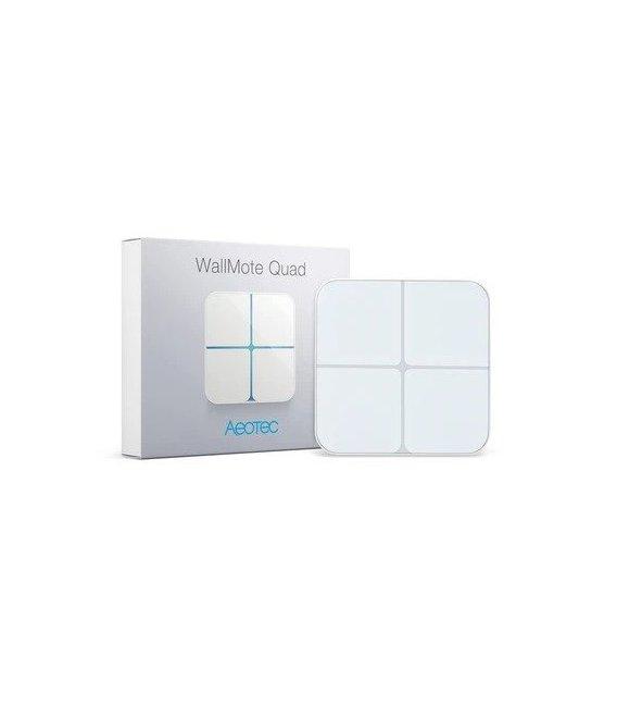 Ovladač Scén - AEOTEC WallMote Quad (ZW130-C)