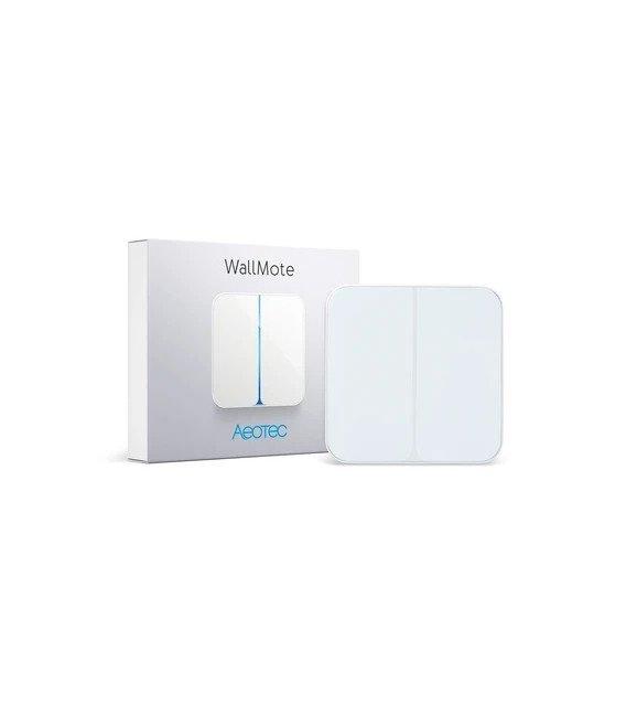 Ovládač Scén - AEOTEC WallMote 2 buttons (ZW129-C)
