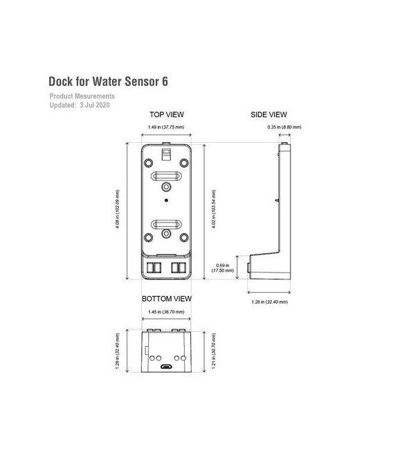 AEOTEC Water Sensor 6 & Dock Kit (Promotion) (ZW122-C and ZW160-Z)