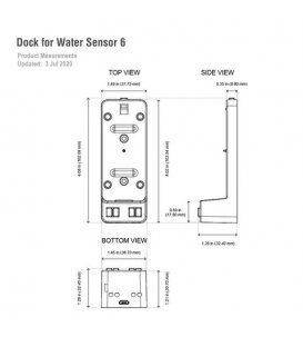 AEOTEC Water Sensor 6 & Dock Kit (Promotion) (ZW122-C and ZW160-Z)