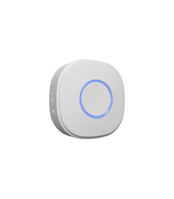 Shelly Button1 - batériový ovládač scén (WiFi), Biela