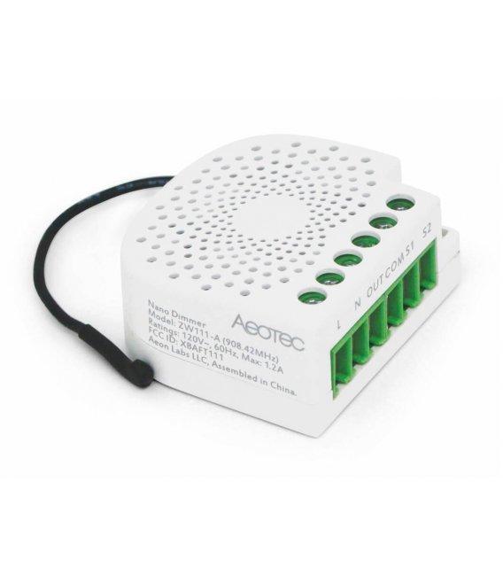 Inteligentný stmievač - AEOTEC Nano Dimmer (ZW111-C)