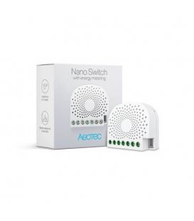 Inteligentný spínač - AEOTEC Nano Switch with Energy-Use Metering (ZW116-C)