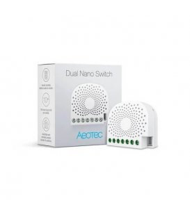 Inteligentní dvojspínač - AEOTEC Dual Nano Switch (ZW140-C)