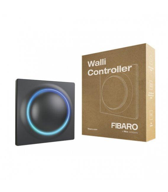 Nástenný ovládač scén - FIBARO Walli Controller Anthracite (FGWCEU-201-8)