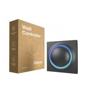 Nástěnný ovladač scén - FIBARO Walli Controller Anthracite (FGWCEU-201-8)