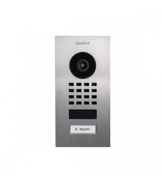 DoorBird D1101V, Flush-mount, Stainless steel V2A, Brushed