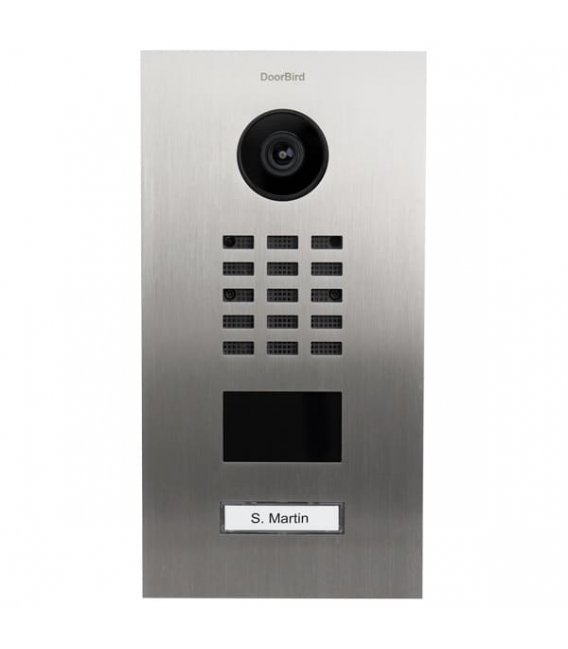 DoorBird D2101V, Flush-mounting, Stainless steel V2A, Brushed