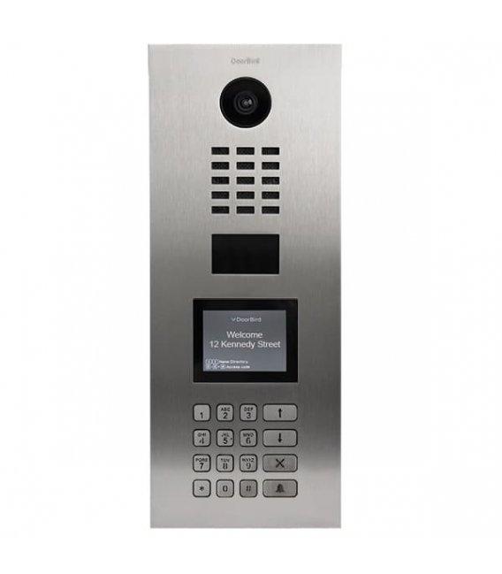 DoorBird D21DKV, Flush-mounting, Stainless steel V2A, Brushed