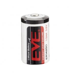 Lithium battery EVE ENERGY ER14250 1/2AA 3.6V 1200mAh, 1pc