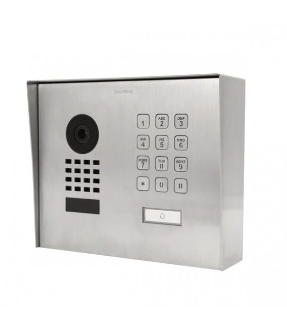 DoorBird D1101KH Modern, Surface-mounting, Stainless steel V2A, Brushed