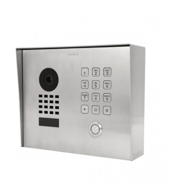 DoorBird D1101KH Classic, Surface-mounting, Stainless steel V2A, Brushed