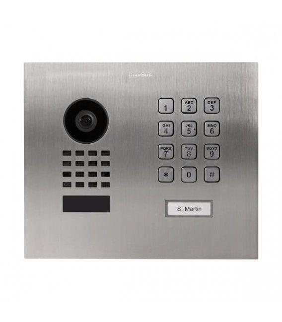 DoorBird D1101KH Modern, Flush-mounting, Stainless steel V2A, Brushed