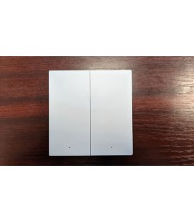 Zigbee wallswitch with double relay - AQARA Smart Wall Switch H1 EU (With Neutral, Double Rocker) (WS-EUK04)