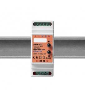 Eutonomy euFIX S212 DIN adaptér (s tlačidlom)