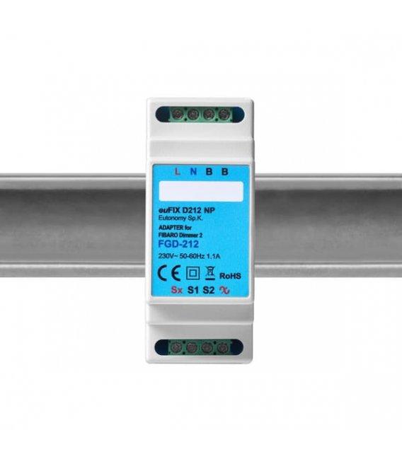 Eutonomy euFIX D212 NP DIN adaptér (bez tlačidla)