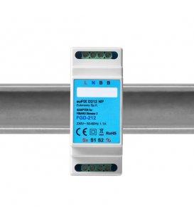 Eutonomy euFIX D212 NP DIN adaptér (bez tlačítka)