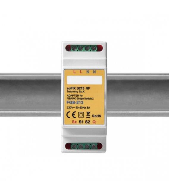 Eutonomy euFIX S213NP DIN adaptér (bez tlačidla)