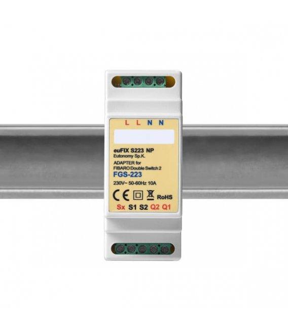 Eutonomy euFIX S223NP DIN adaptér (bez tlačidla)