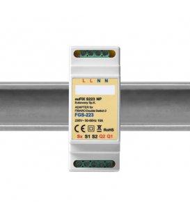 Eutonomy euFIX S223NP DIN adaptér (bez tlačítka)