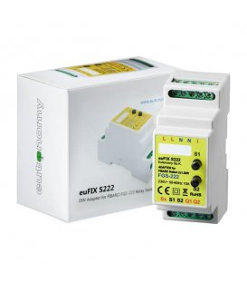 Eutonomy euFIX S222 DIN adaptér (s tlačidlom)