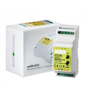 Eutonomy euFIX S222 DIN adaptér (s tlačítkem)