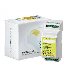 Eutonomy euFIX S222NP DIN adaptér (bez tlačítka)