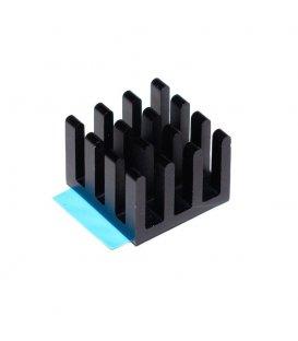 Hliníkový chladič 14 x 14 x 10mm pro Raspberry Pi
