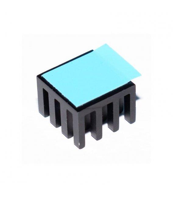 Hliníkový chladič 14 x 14 x 10mm pre Raspberry Pi
