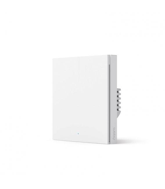 Zigbee wallswitch with relay - AQARA Smart Wall Switch H1 EU (With Neutral, Single Rocker) (WS-EUK03)