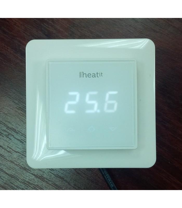 Heatit Z Wave Thermostat White Z Wave Wall Thermostat