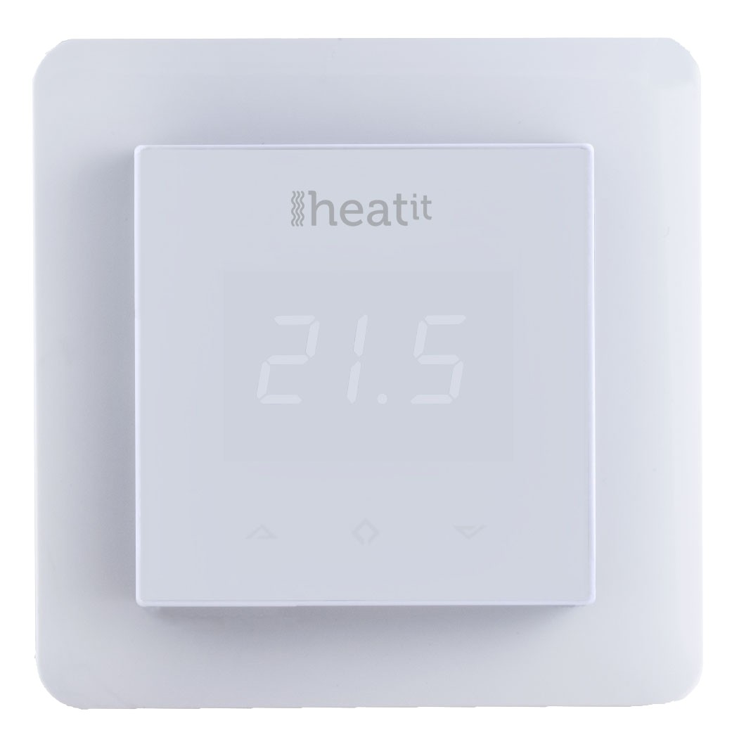 Heatit Z Wave Thermostat White Z Wave Wall Thermostat