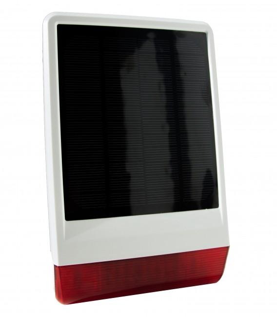 POPP Solar Powered Outdoor Siren