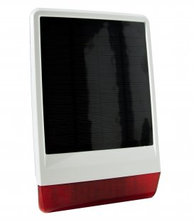 POPP Solar Powered Outdoor Siren