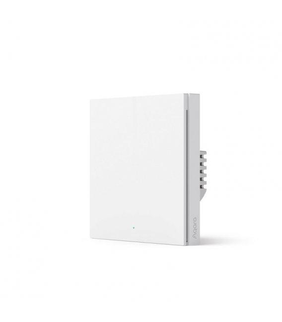 Zigbee wallswitch with relay - AQARA Smart Wall Switch H1 EU (No Neutral, Single Rocker) (WS-EUK01)
