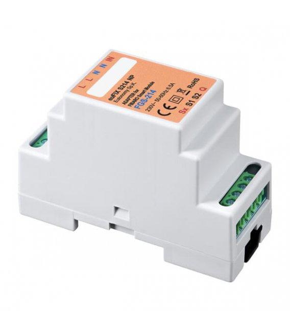 Eutonomy euFIX S214NP DIN adaptér (bez tlačidla)
