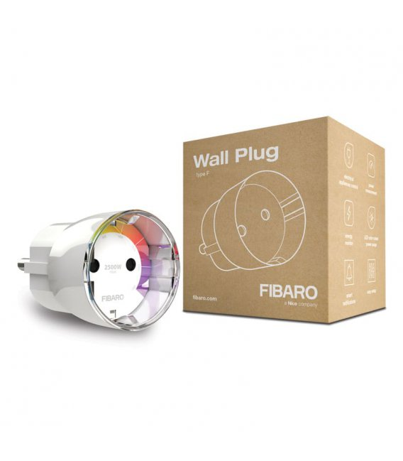 FIBARO Wall Plug type F (FGWPF-102 ZW5)