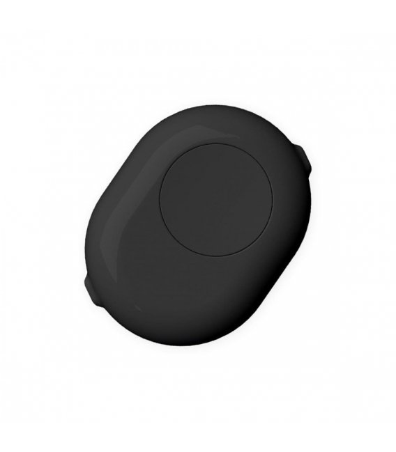 Shelly Button - cover with button for Shelly 1 or Shelly 1PM - Black