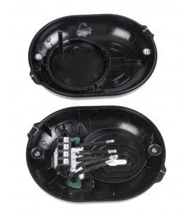 Shelly Button - kryt s tlačidlom pre Shelly 1 alebo Shelly 1PM - Čierne