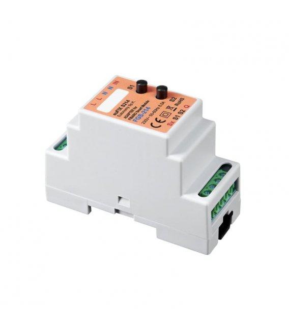 Eutonomy euFIX S214 DIN adaptér (s tlačidlom)