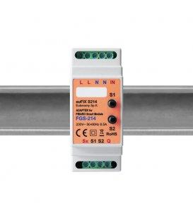 Eutonomy euFIX S214 DIN adaptér (s tlačítkem)